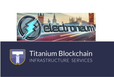 Electroneum Richard Ells partners with titanium Blockchain Infrastructure SErvices Michael Stollaire President & CEO