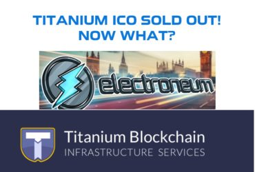 Titanium TBIS ICO SOLD OUT - Next Steps